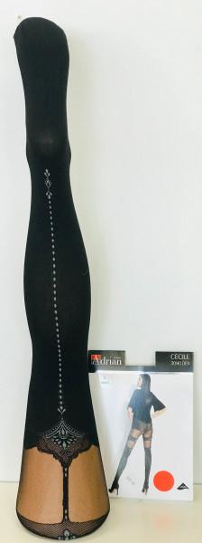 Strumpfoptik Ornamente 20-40Den Cecile