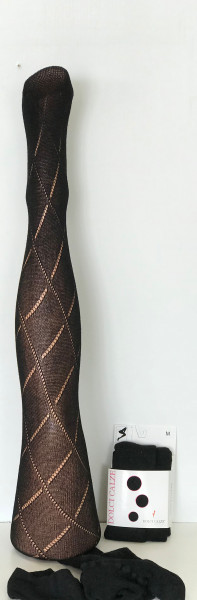 Pantyhose Rauten Muster